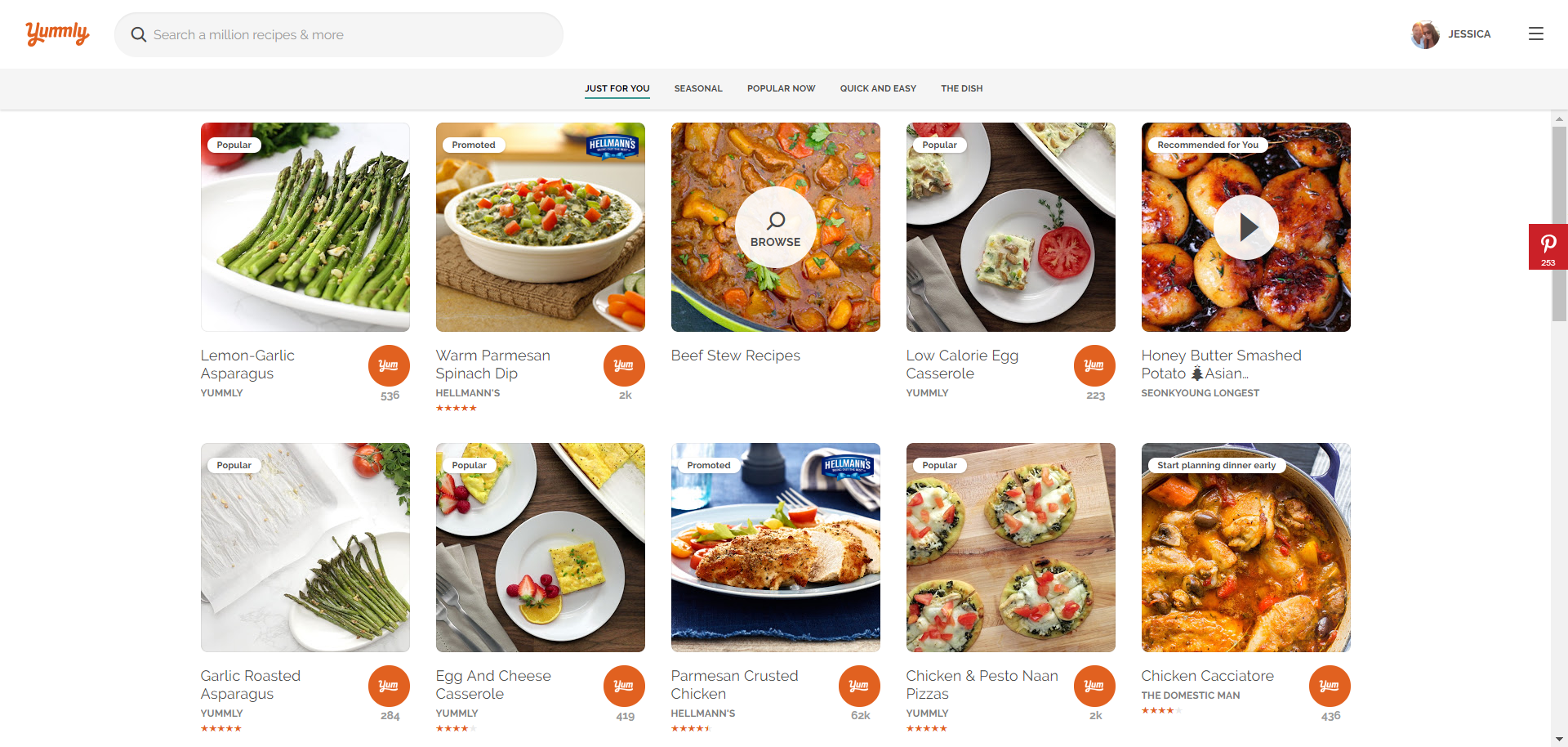Discovering Recipes \u2013 Yummly Help Center